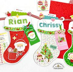 Christmas Gift Card Stocking Banner