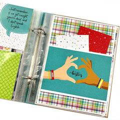 Best Friends Scrapbook Mini Album Kit