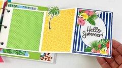 Summer Scrapbook Album