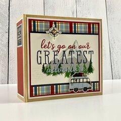 Our Greatest Adventure Travel Scrapbook Kit