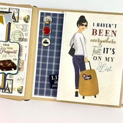 Our Greatest Adventure Travel Scrapbook Kit