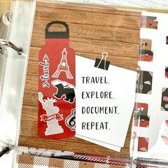 Travel Scrapbook Albums