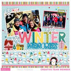 Winter Memories Layout