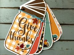 Give Thanks Mini Album Journal