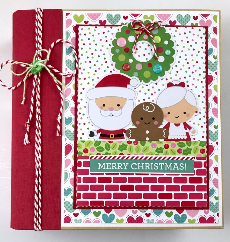 Doodlebug Milk & Cookies Album Kit