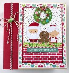 Doodlebug Milk & Cookies Album Kit