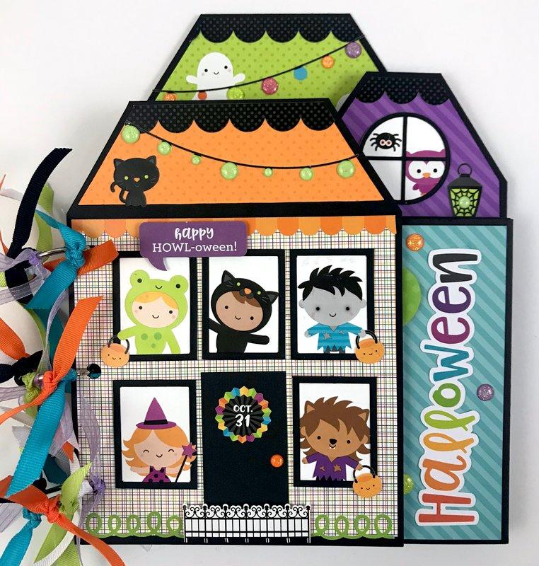 Doodlebug Pumpkin Party Mini Album