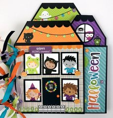 Doodlebug Pumpkin Party Mini Album