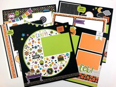 Doodlebug Pumpkin Party Layouts