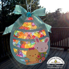 Easter Washi Tape SunCatcher