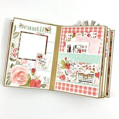 Beautiful Memories Scrapbook Album