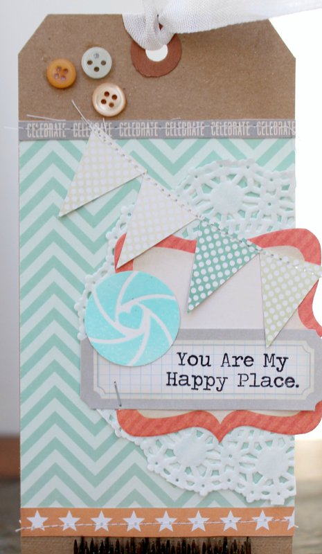 You Are My Happy Place Tag