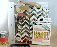 Haiti Acrylic Mini Album
