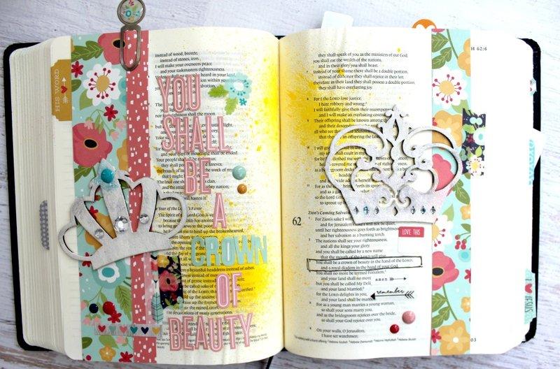Clear Scraps Bible Journaling-Crown Chipboard Embellishments