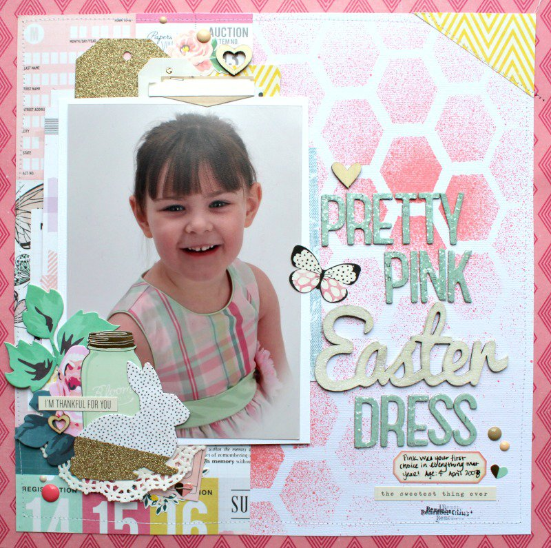Pretty Pink Easter Dress