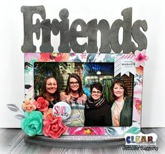 Friends Desktop DIY Wood Frame
