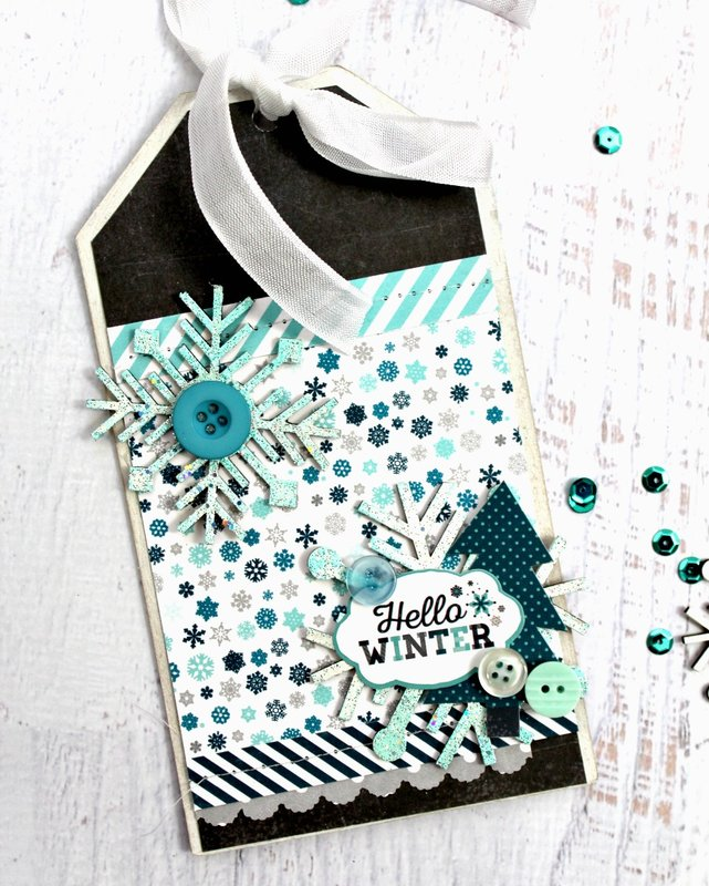 Clear Scraps January 2017 Tag