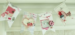 Clear Scraps Acrylic Pennant Banner