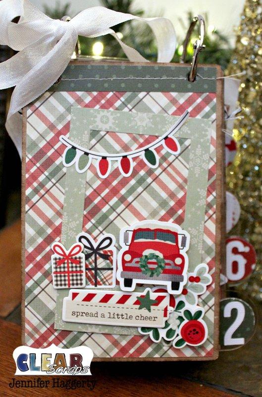 Christmas Countdown Mini Album