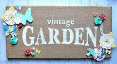 Vintage Garden Canvas