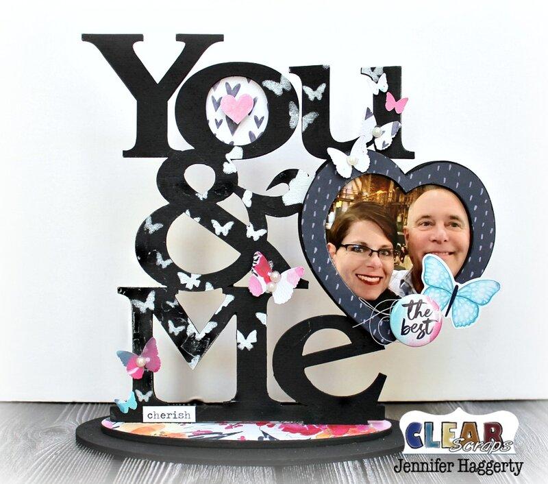 You & Me Desktop Wood Frame