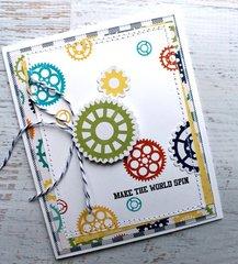 Make The World Spin Card