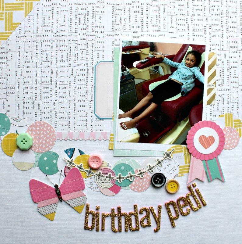 Birthday Pedi