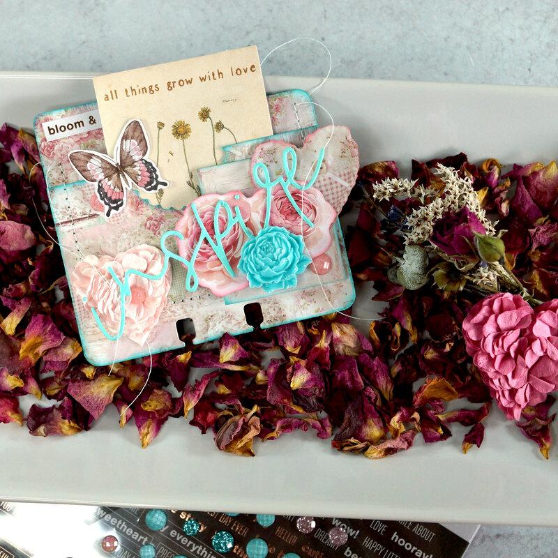 Memorydex Valentine's Advent: Pocket with DIY Seed Packet