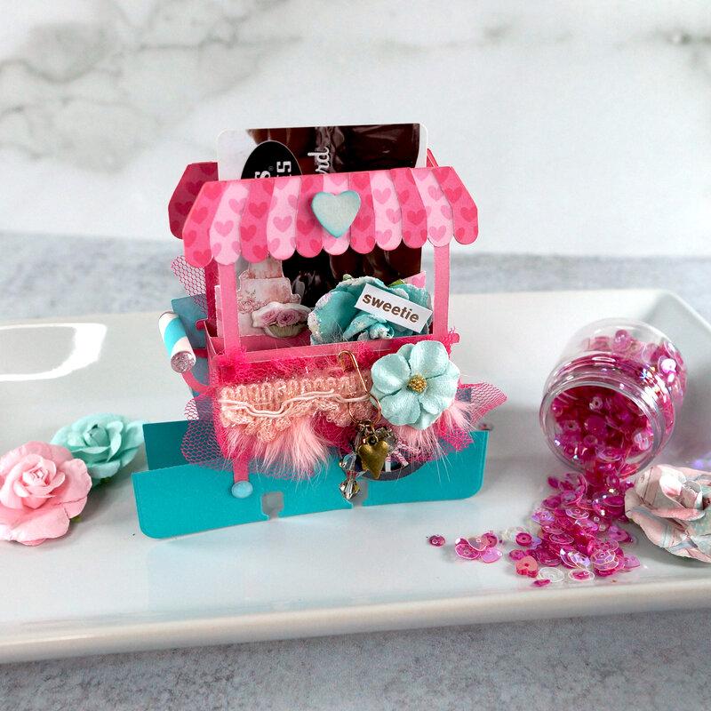 Memorydex Valentine's Advent: Sweets Cart
