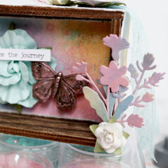 Embrace the Journey (Mixed Media Mini Vignette)