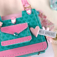 Memorydex Valentine's Advent: Mini Purse Pocket