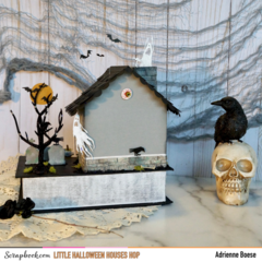 Little Halloween Houses: Tiny Dead & Breakfast Haunted House