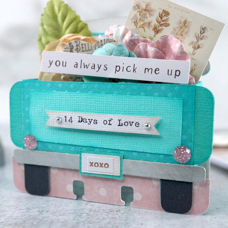 Memorydex Valentine's Advent: 14 Days of Love Vintage Truck
