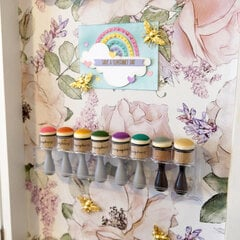 Magnetic Board Storage with Jars and Blending Foams