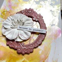 Believe in Yourself (Faux Watercolor Card)