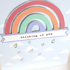 Rainy Day Thinking of You Card