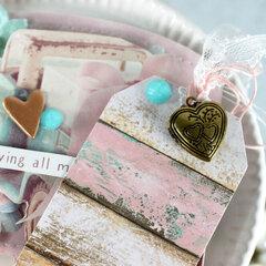 Memorydex Valentine's Advent: Vintage Truck with Tag + Locket