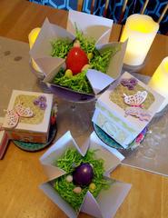 Easter Table Decor:  Name Box