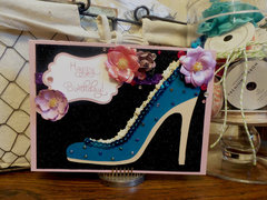 Stylish High Heel Birthday Card