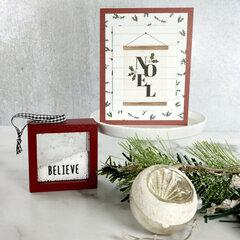 Easy Farmhouse Christmas Cards