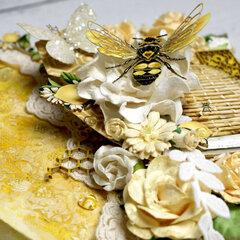 Bee-utiful Mixed Media Canvas