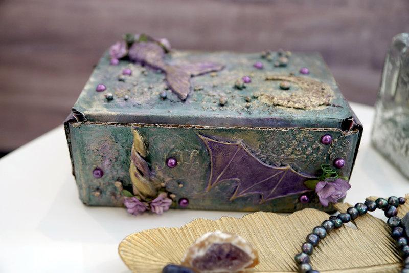 Fantasy Themed Altered Box