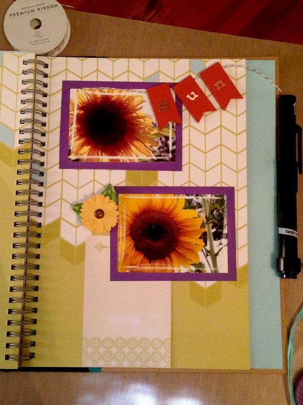 Sunflowers *Smashbook*