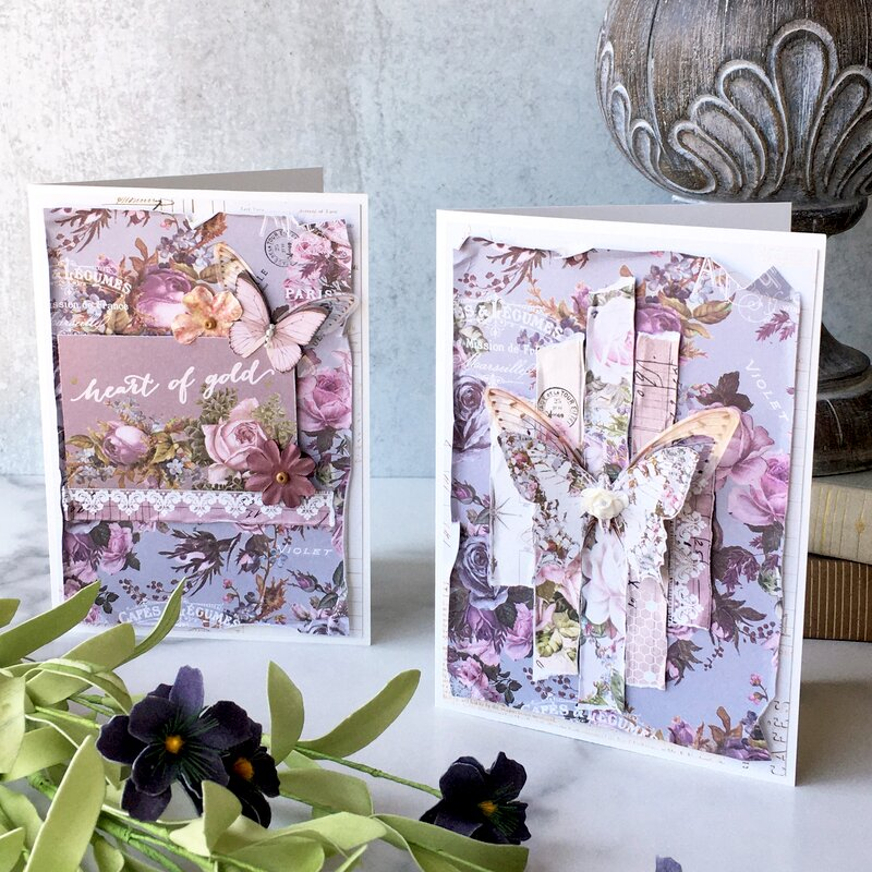 Lavender Mother's Day Cards