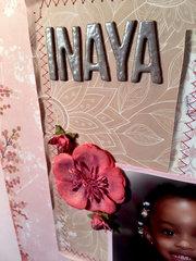 Album Cover Alteration - Inaya