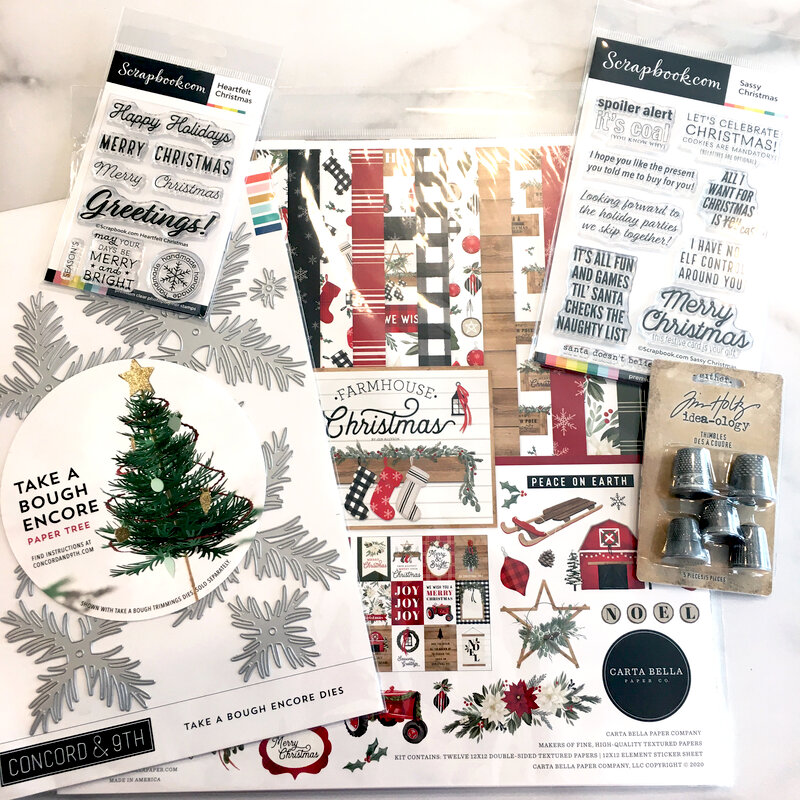 Christmas Supplies Added to My Craft Room