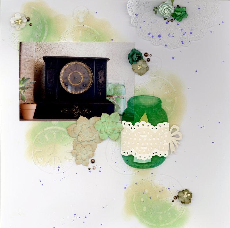 Untitled [Wedding Reception Decor-Clock]