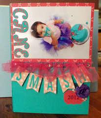 Birthday Cake Smash (2) custom DVD case