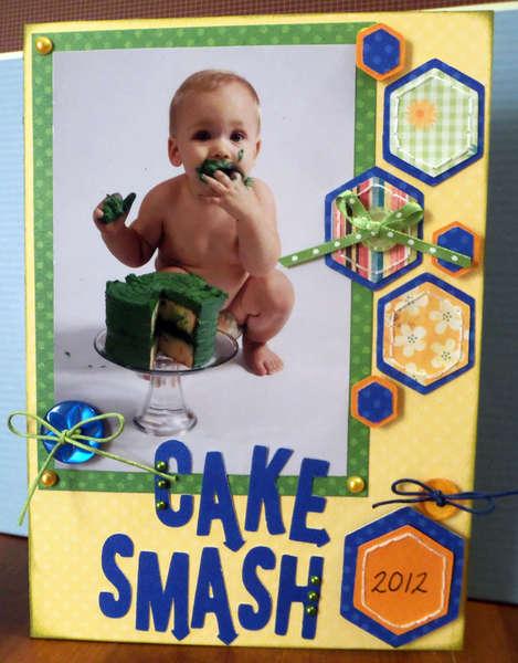 Birthday Cake Smash (1) custom DVD case