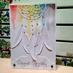 Dreamcatcher Sympathy Card